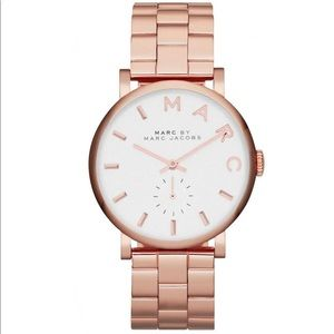 Marc Jacobs Baker Rose Gold Chronograph Watch